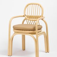 Andrea Mestre's Gandia chair explores the properties of the rattan cane.