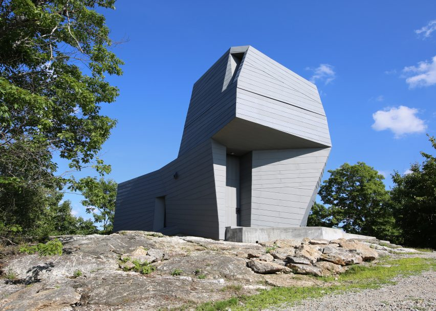 Gemma Observatory, New Hampshire, by Anmahian Winton Architects