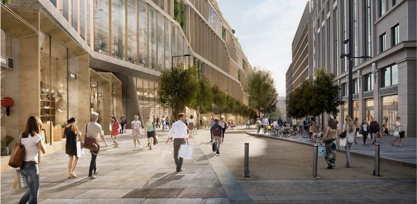 Google HQ London by BIG and Heatherwick