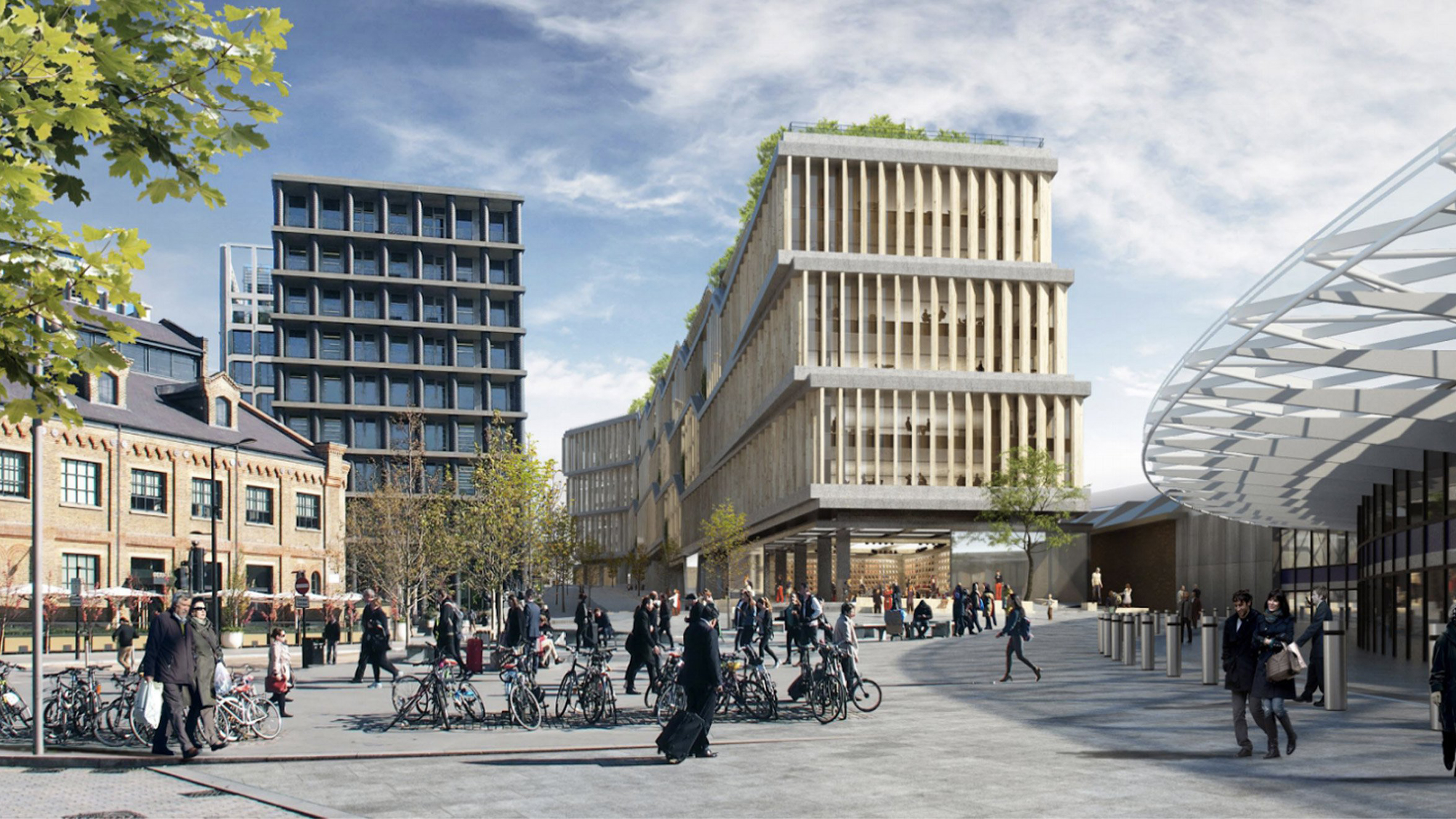 Facebook set to build London headquarters at King's Cross