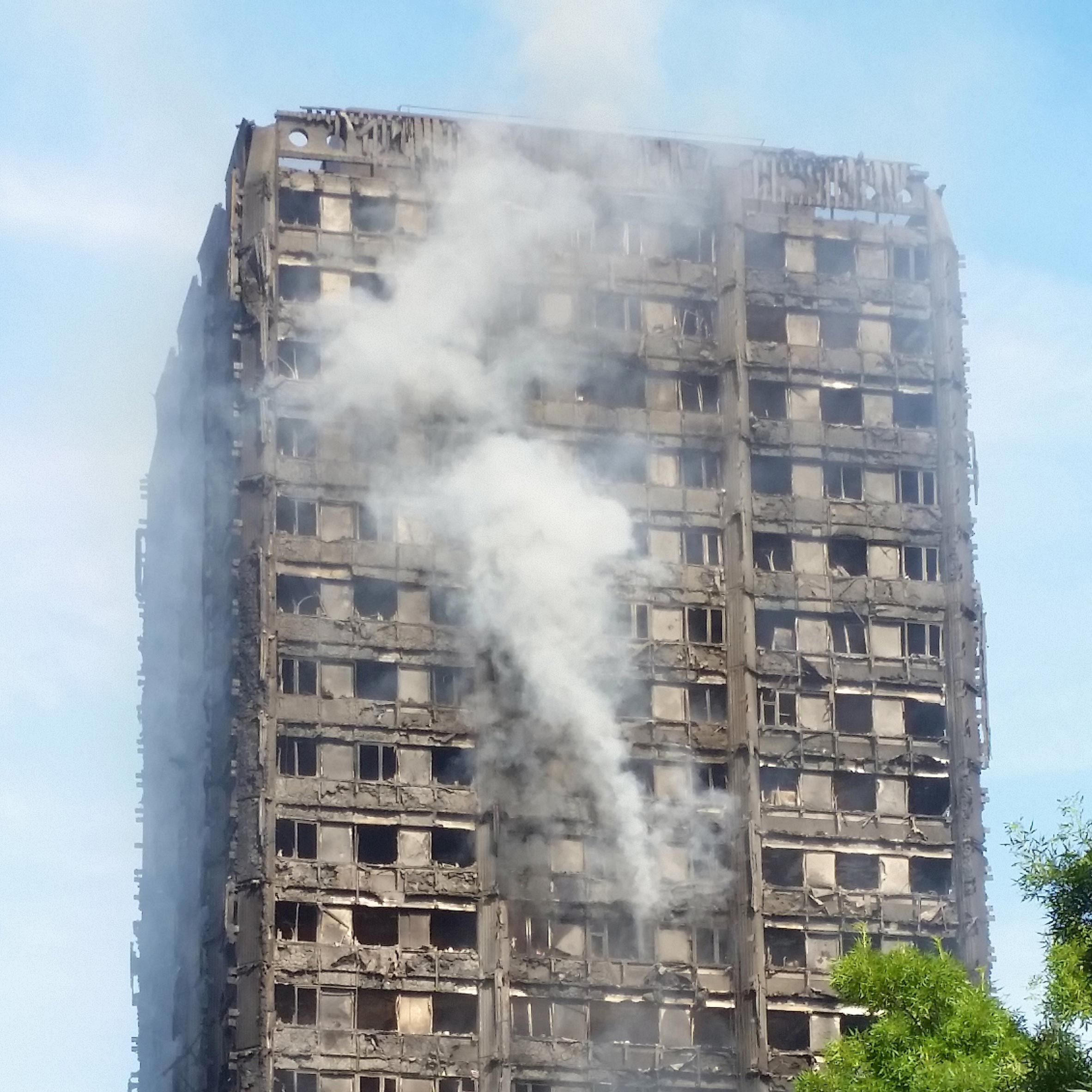 Grenfell Tower cladding identified as cheaper and more flammable option