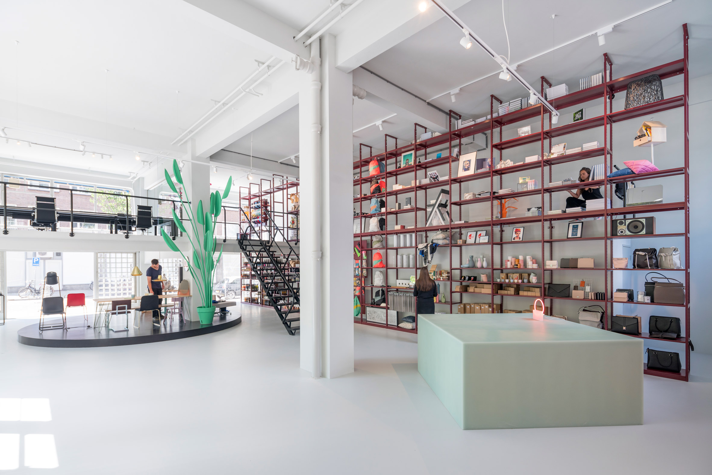 MVRDV creates interiors for Groos store inside post-war Rotterdam building