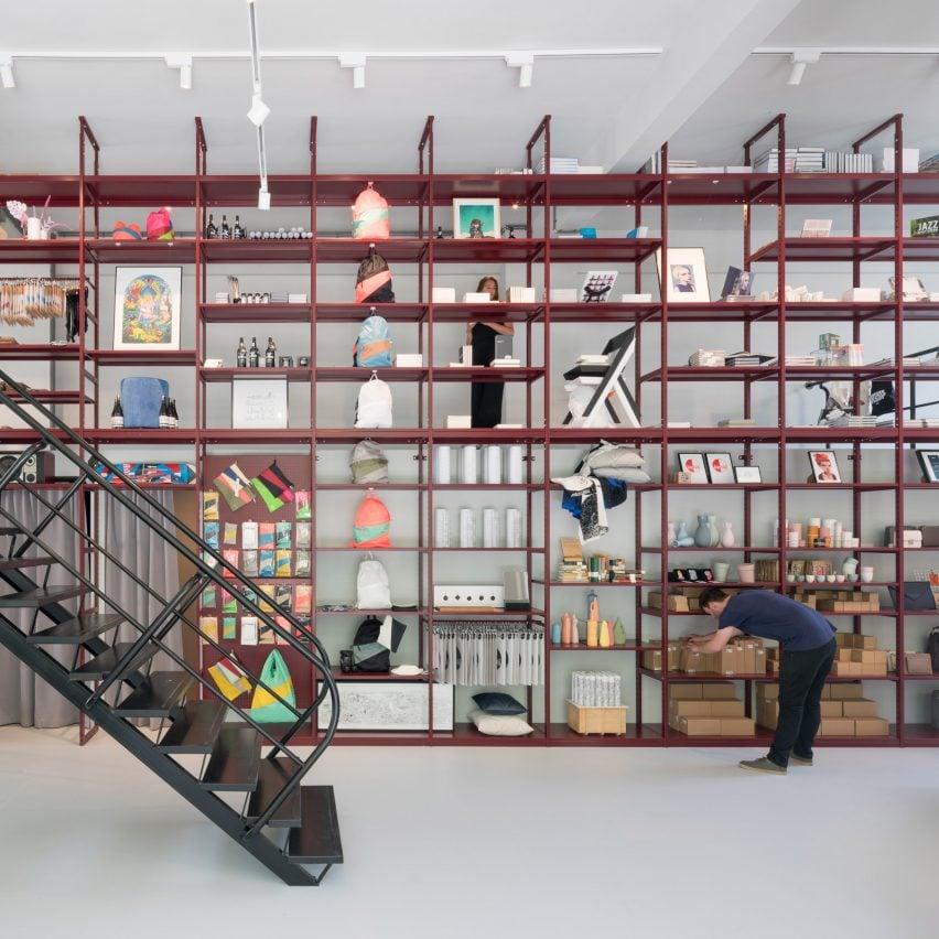 Mvrdv creates interiors for groos store inside post war for Store building design