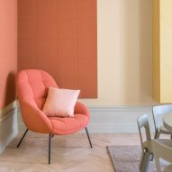 10 pastel-hued interiors from Dezeen's Pinterest boards