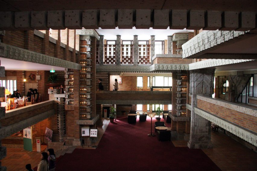 The Imperial Hotel by Frank Lloyd Wright