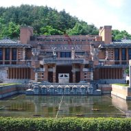 Frank Lloyd Wright merged eastern and western architecture at Tokyo's Imperial Hotel