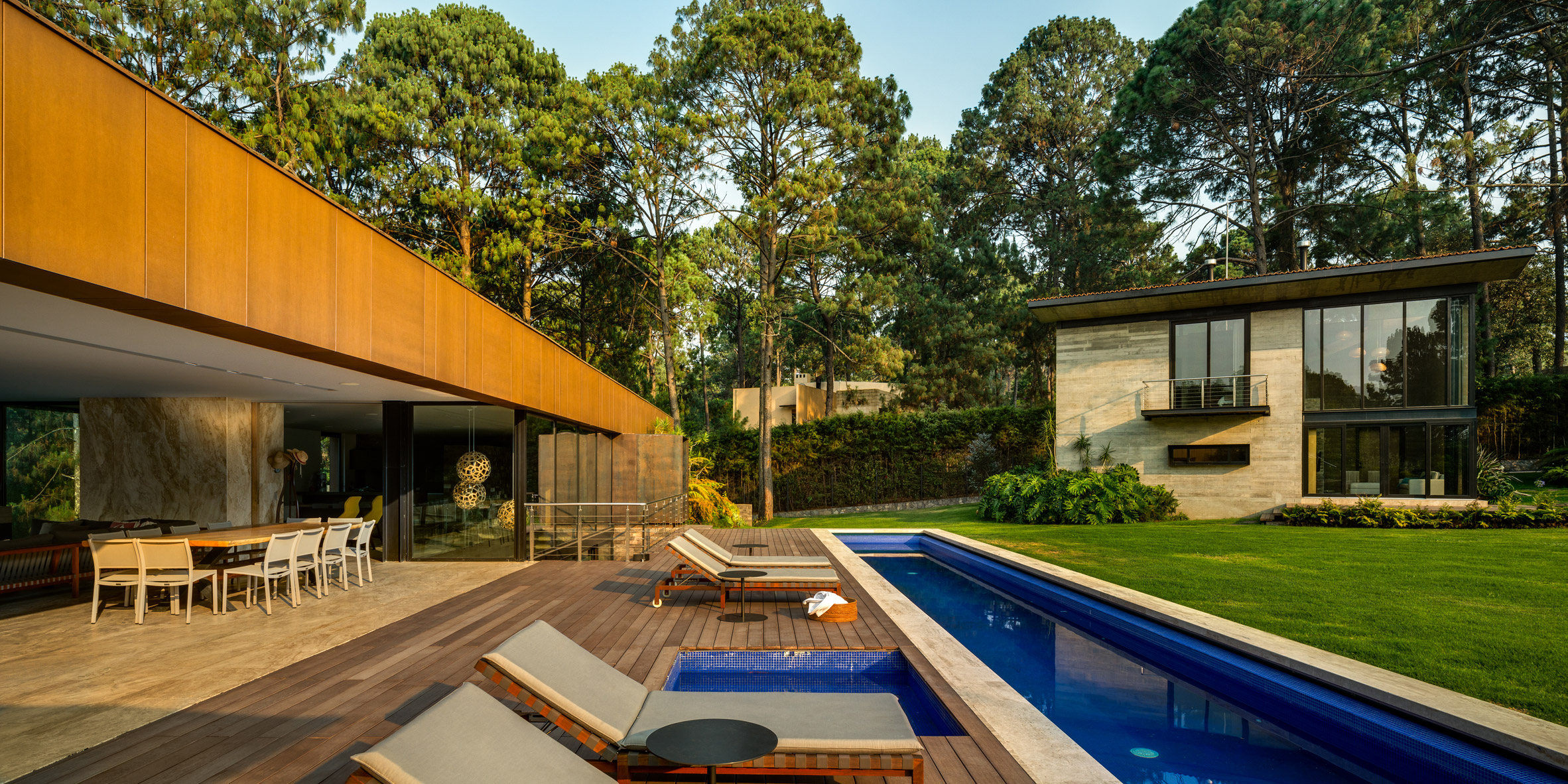 Five separate houses form Mexican estate by Vieyra Arquitectos ...