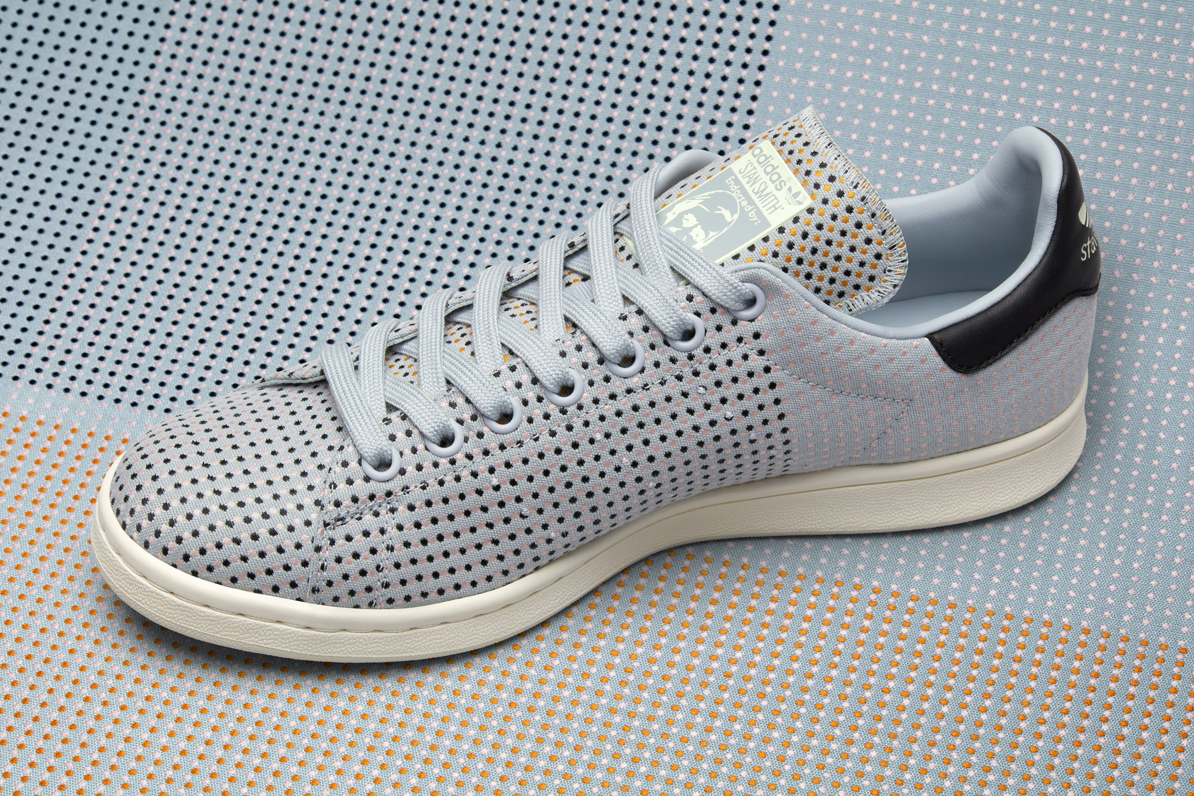 Adidas unveils special-edition Stan Smith trainers with Kvadrat fabric