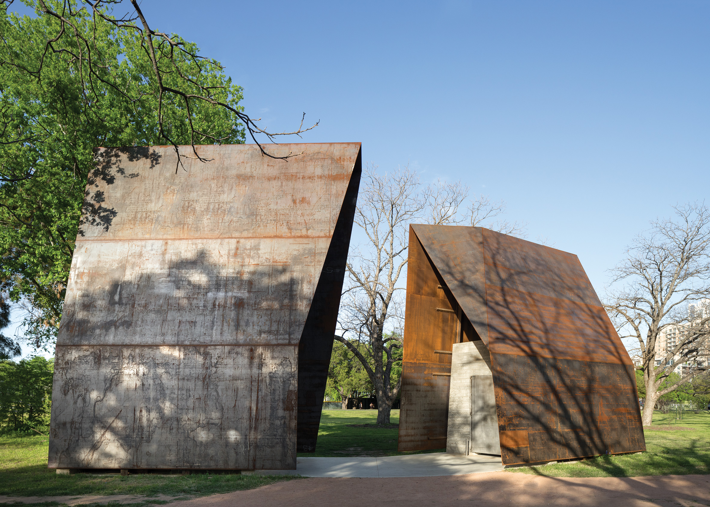 Lady Bird Loo, Austin, Texas, by Mell Lawrence Architects