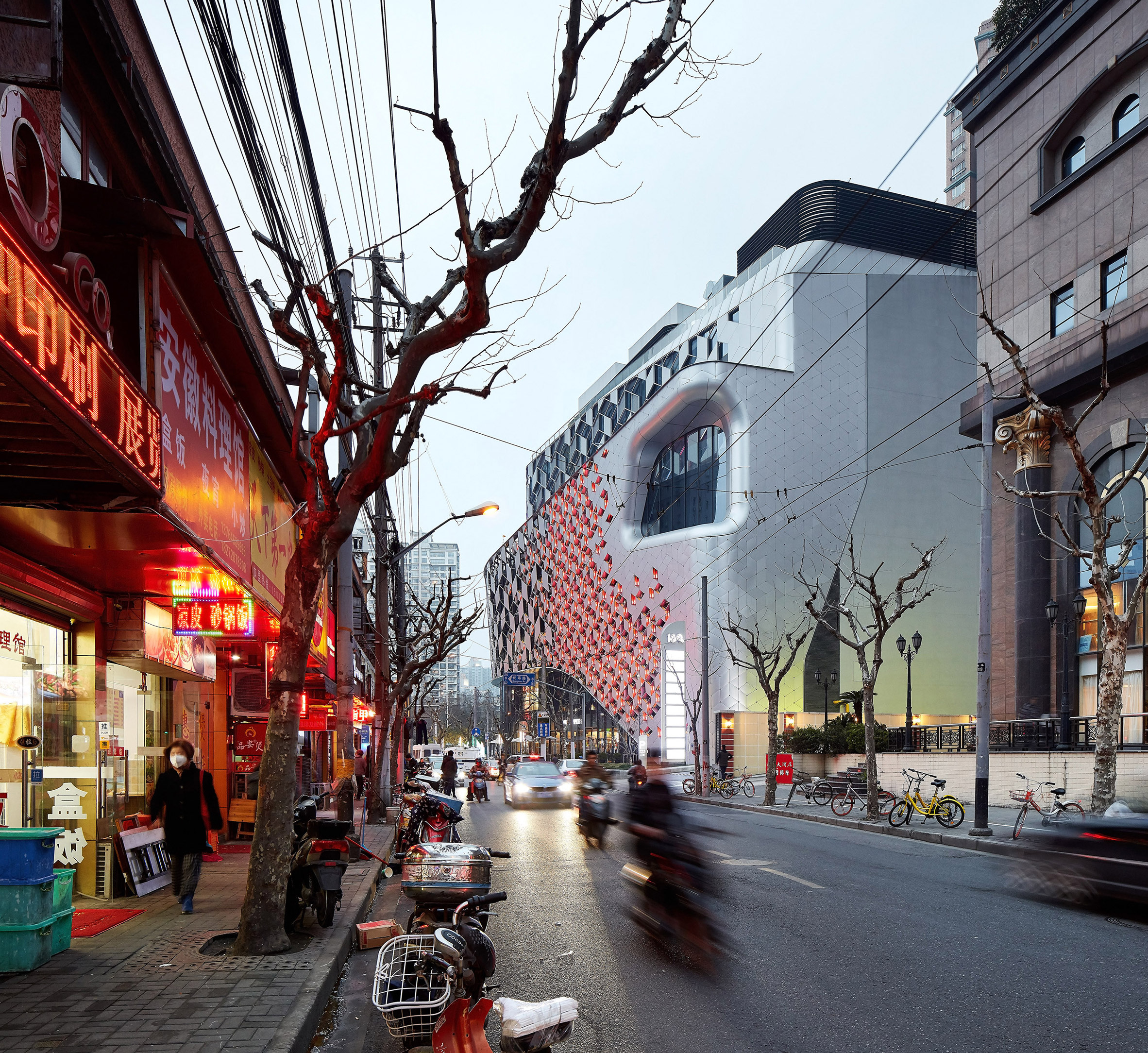 UNStudio completes Shanghai shopping centre covered in diamond shapes