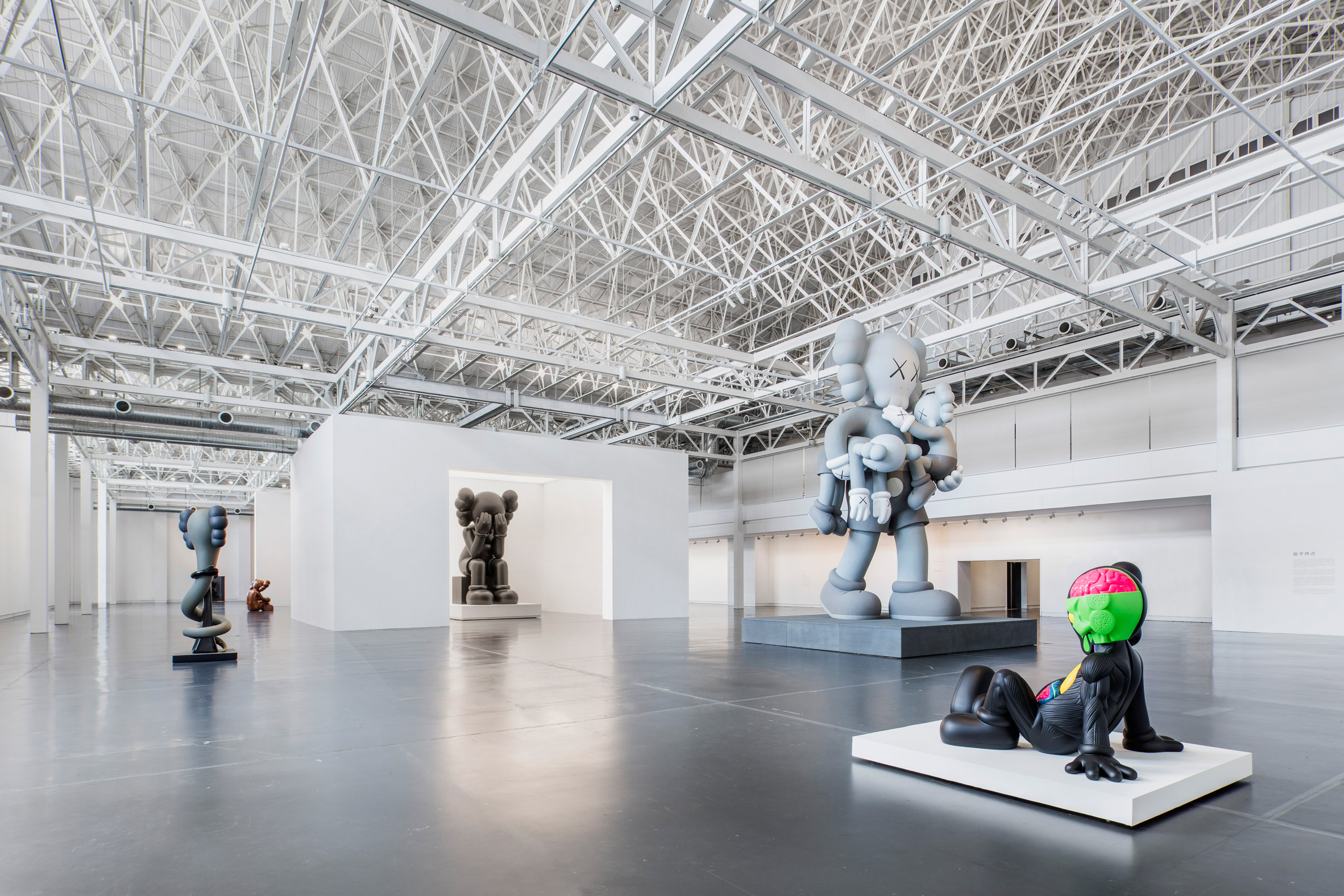 Aranda\Lasch creates exhibition design for Kaws retrospective in Shanghai