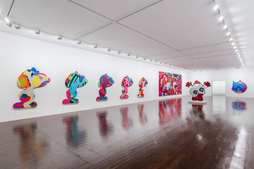 Aranda\Lasch KAWS Exhibition Design for Yuz Museum in Shanghai, China