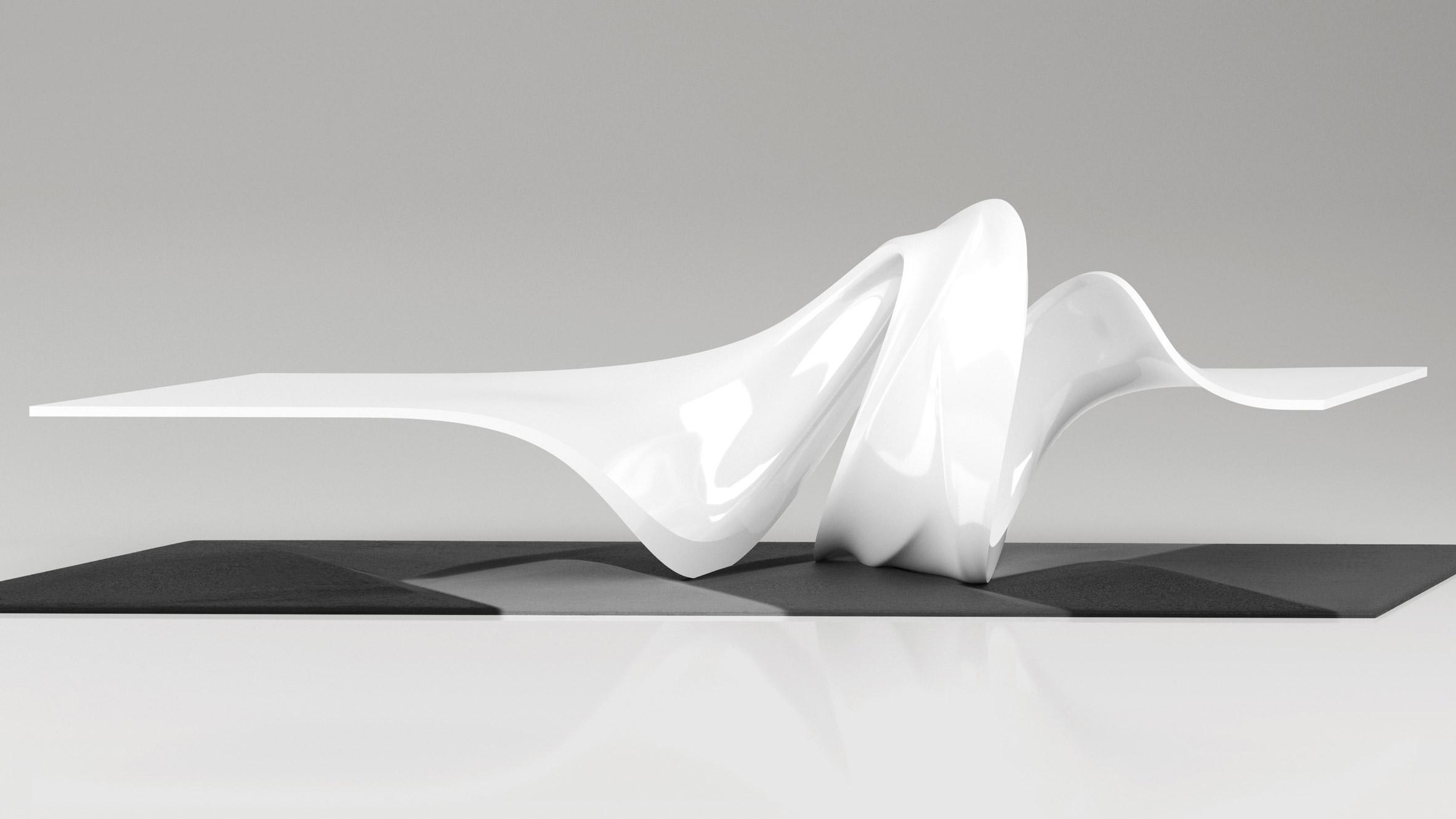 Zaha Hadid Design Creates Table Based On Princess Leiau0027s Trademark Buns