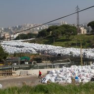 Lebanese designers embrace rubbish following Beirut trash crisis