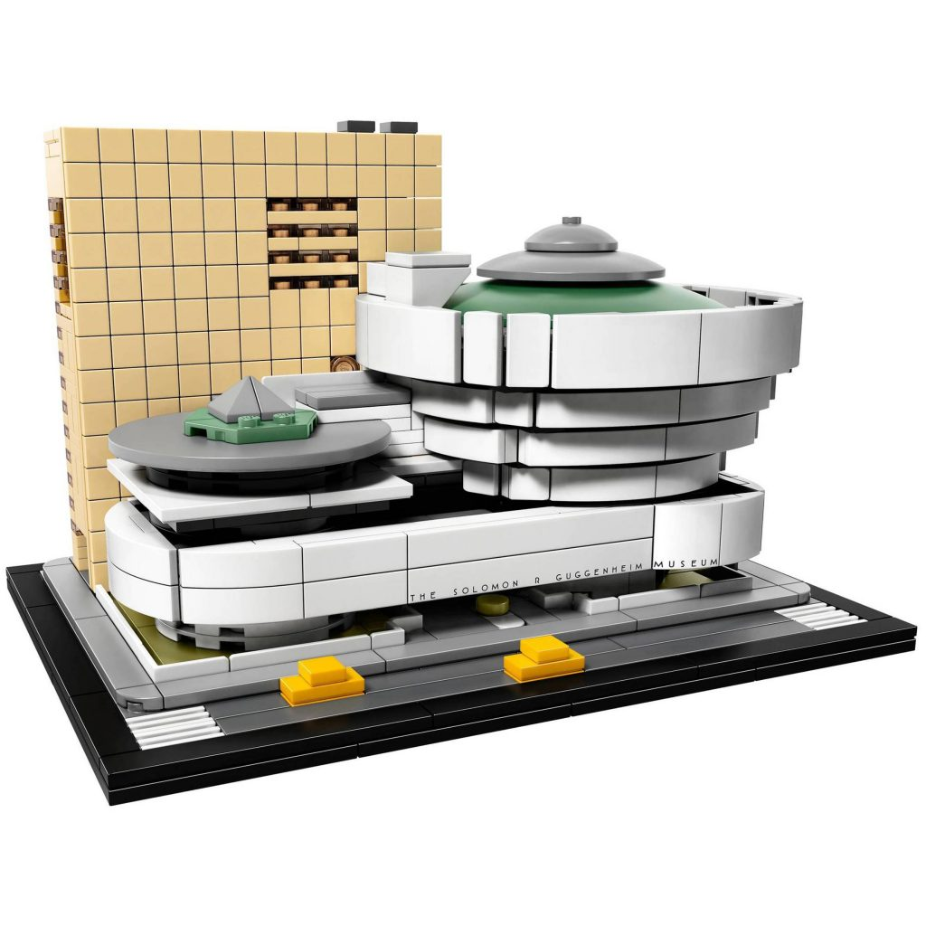 Lego launches Guggenheim model for Frank Lloyd Wright's 150th birthday