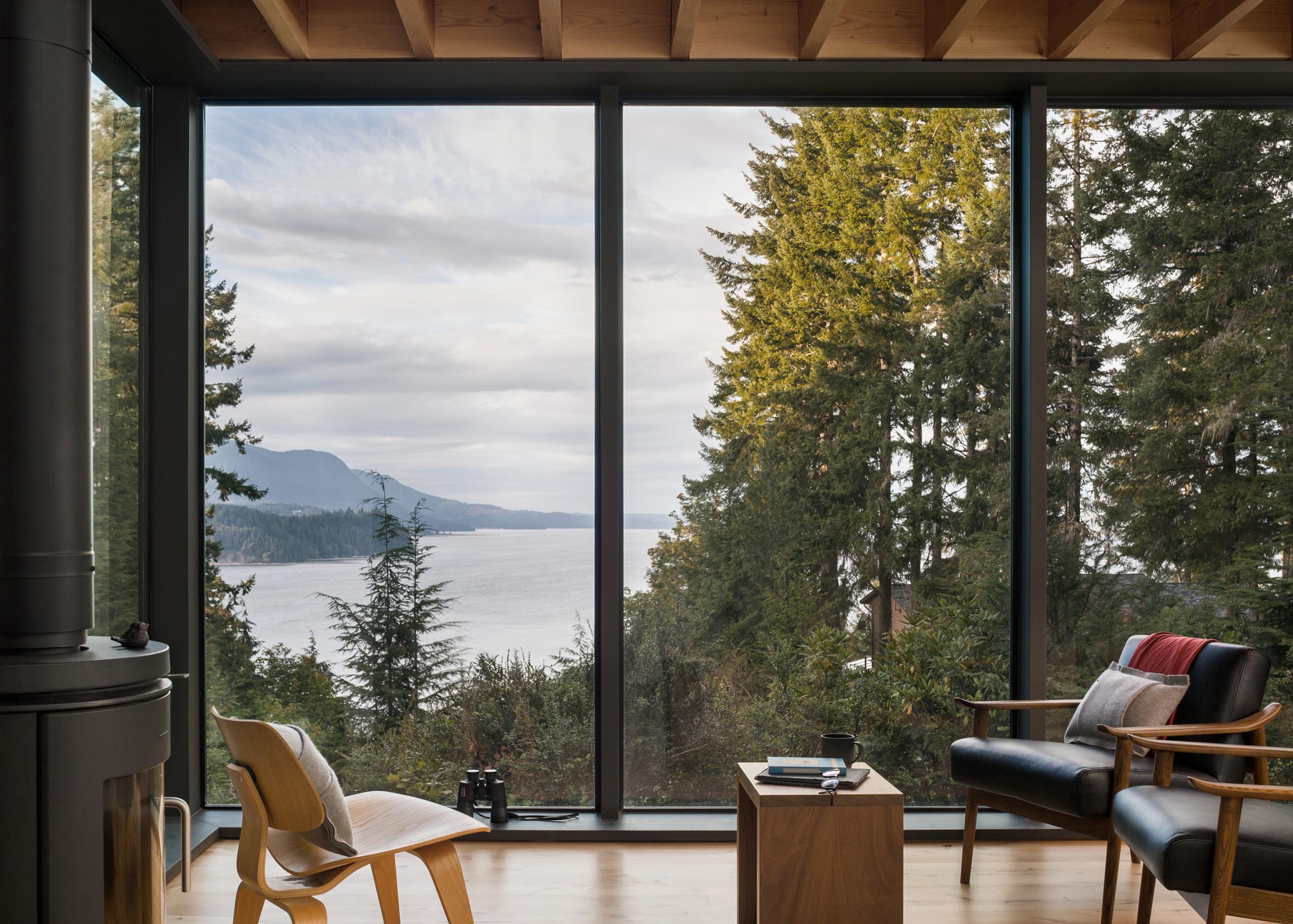Little House, Seabeck, Washington, by MW Works