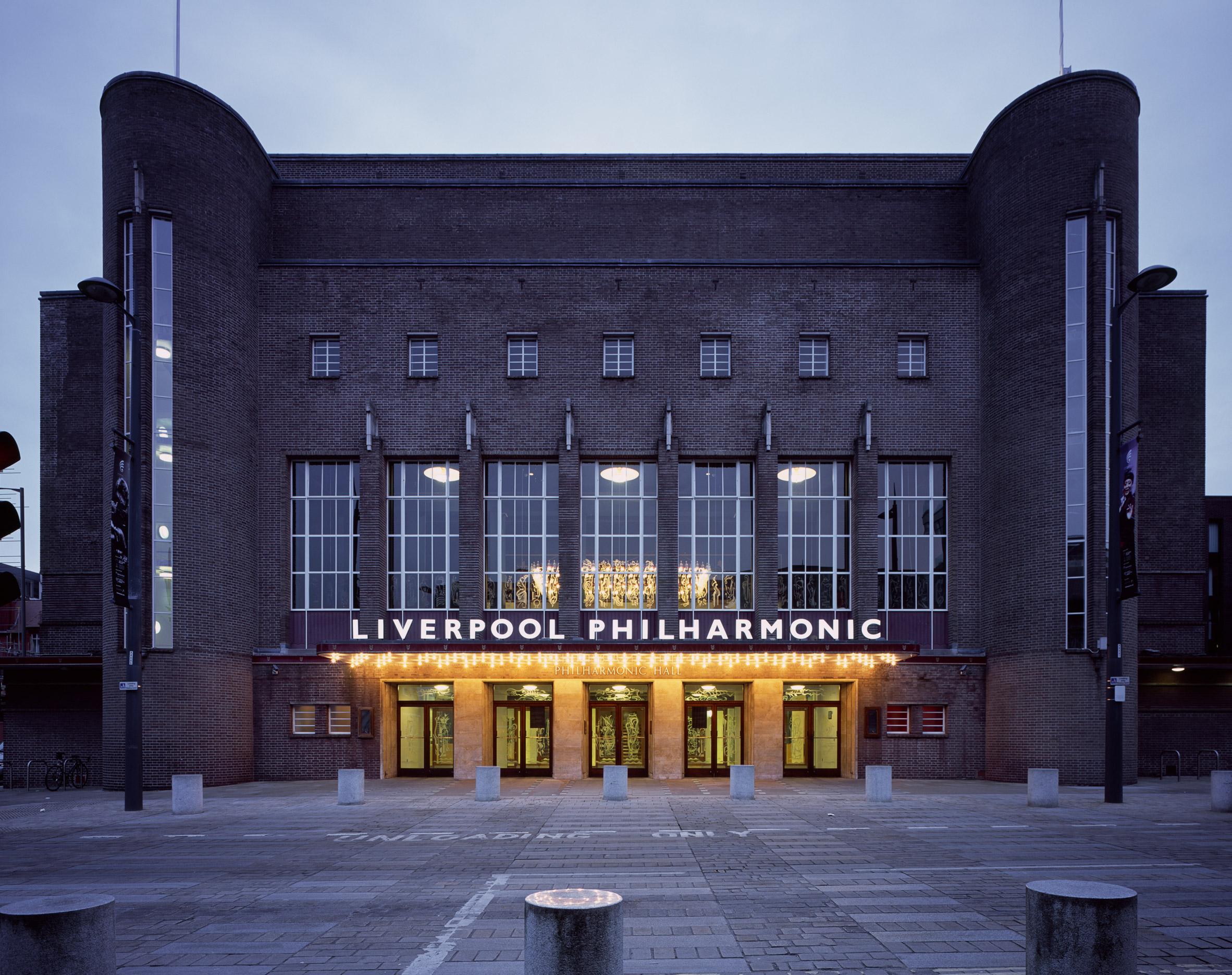 Caruso St John's Liverpool Philharmonic Hall refurbishment revives an art deco masterpiece