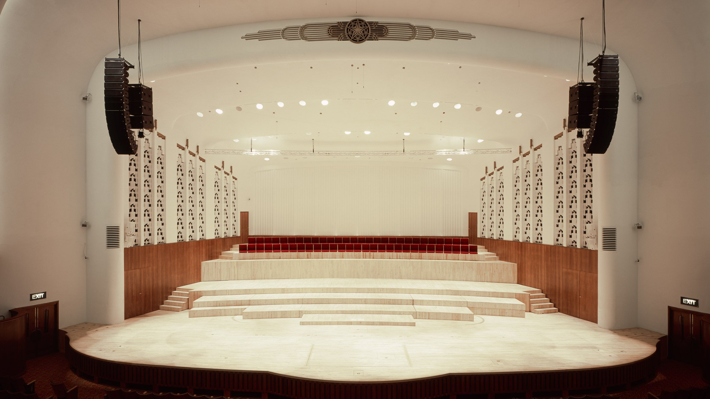 Caruso St John s Liverpool Philharmonic Hall refurbishment revives an art  deco masterpiece. Concert hall architecture   Dezeen