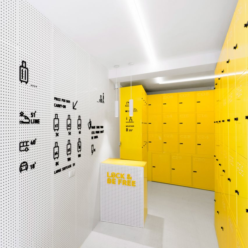 Lock and Be Free Urban locker by Wanna One. Platinum A' Design Award Winner for Interior Space and Exhibition Design Category