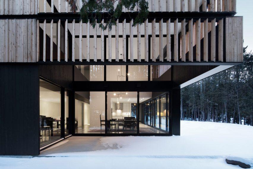 Maison sur le Lac by ACDF Architecture