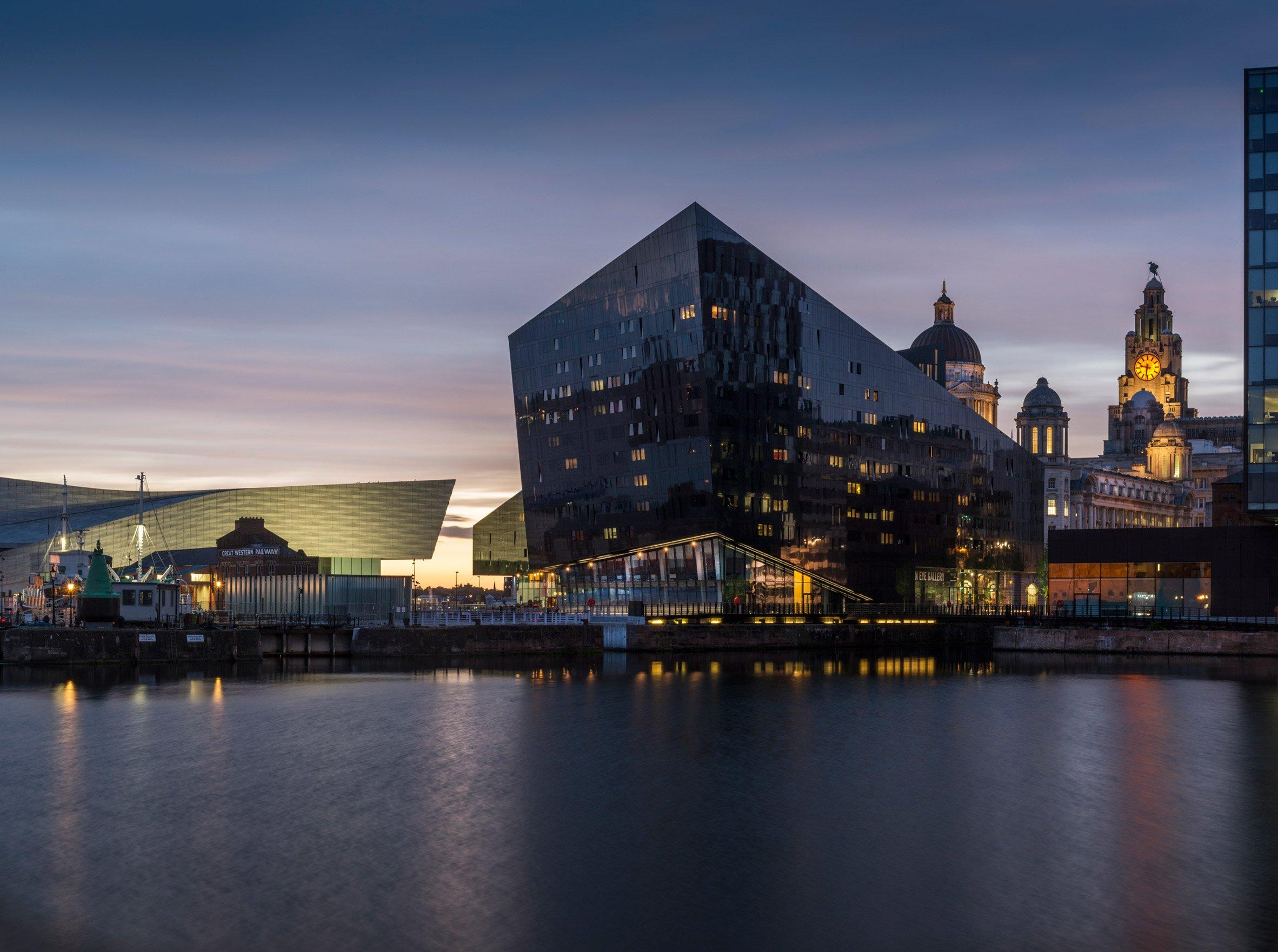 RIBA North architecture centre opens on Liverpool's Mann Island