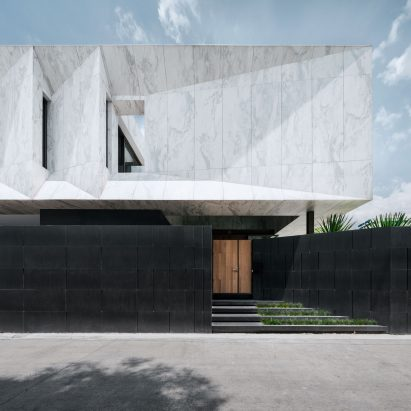 Openbox Architects Tops Bangkok House With Monolithic Piece Of Marble Sculpture