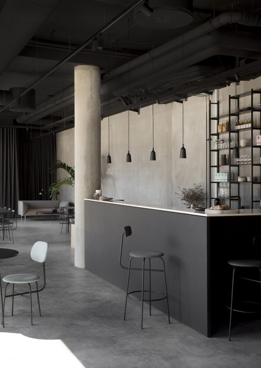 Menu Space showroom, a collaborative project with Norm Architects, is finished for Danish design company MENU