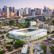 Latest Dezeen Mail features Beckham's Miami stadium and the Grenfell Tower fire