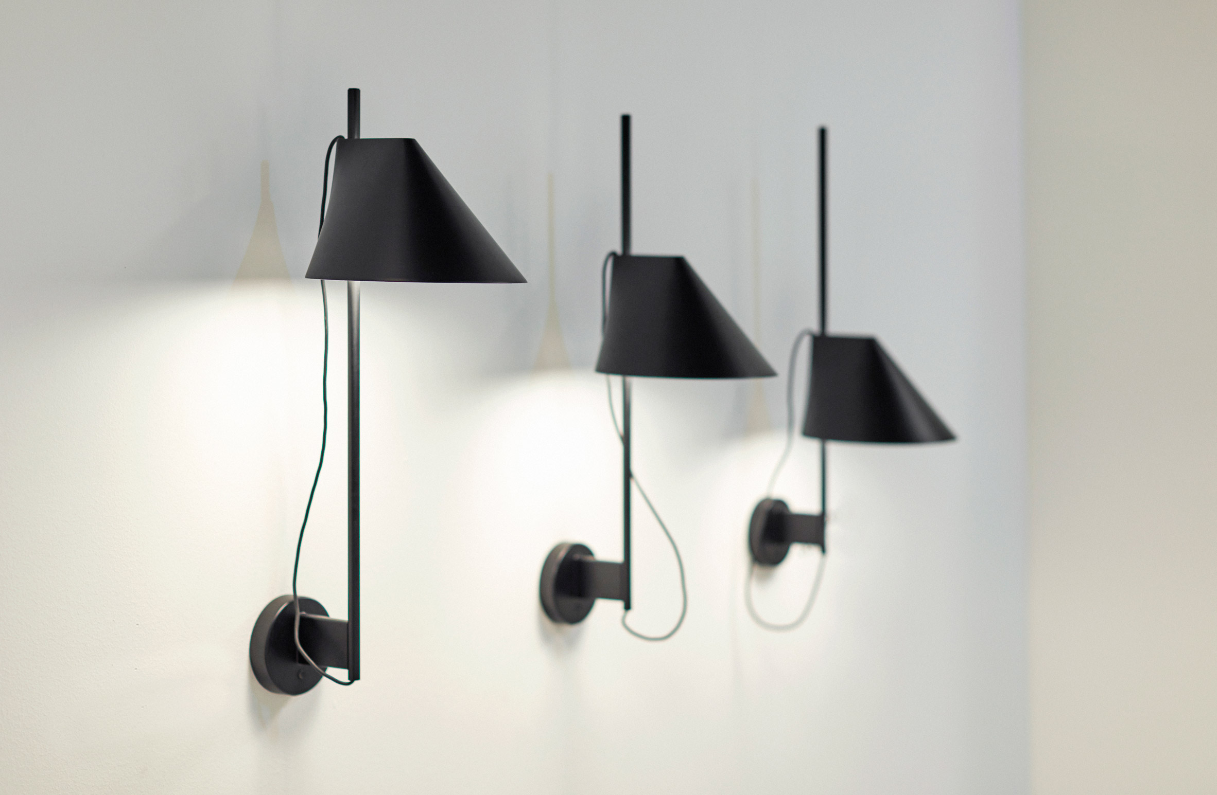 GamFratesi designs collection of sliding lamps for Louis Poulsen