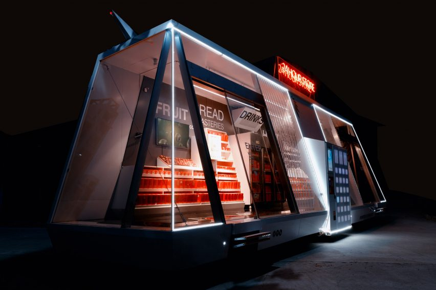 Moby mobile grocery store by Wheelys