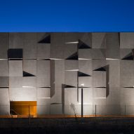 May + Russell's Australian archive building features three-dimensional concrete facades
