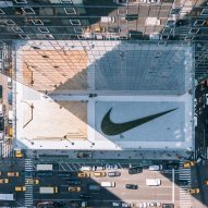 Nike unveils New York headquarters topped with giant planted swoosh