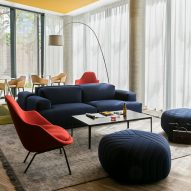 Patrick Norguet creates colourful communal spaces in latest Okko Hotel interior