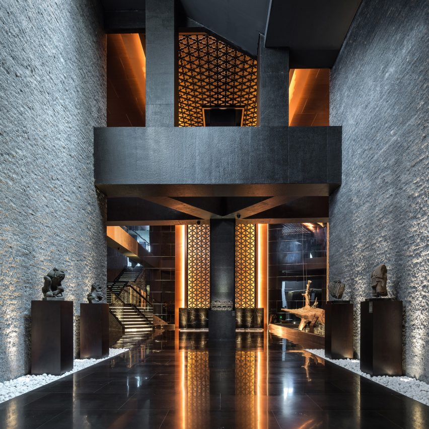 Peninsula Clubhouse Leisure space by Joe Chan for CITIC Real Estate. Golden A' Design Award Winner for Interior Space and Exhibition Design Category