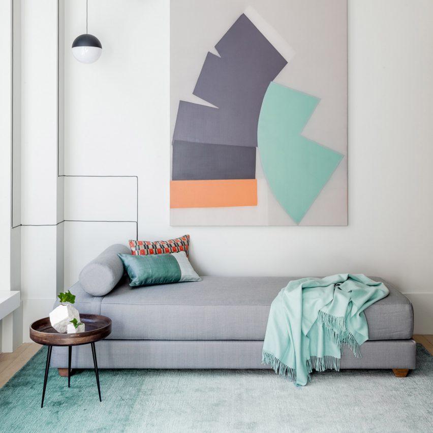 Pinterest roundup pastel interiors