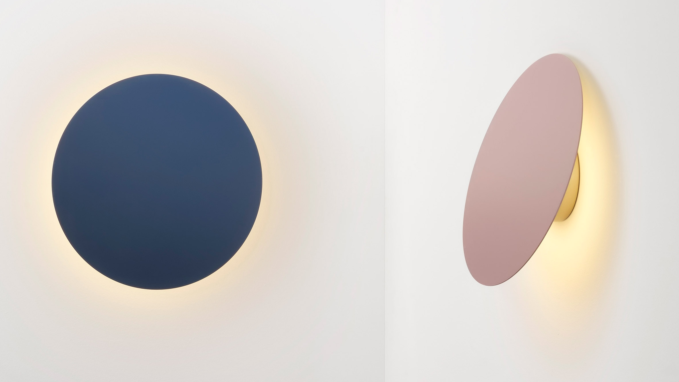 Polar wall lamp by Ross Gardam