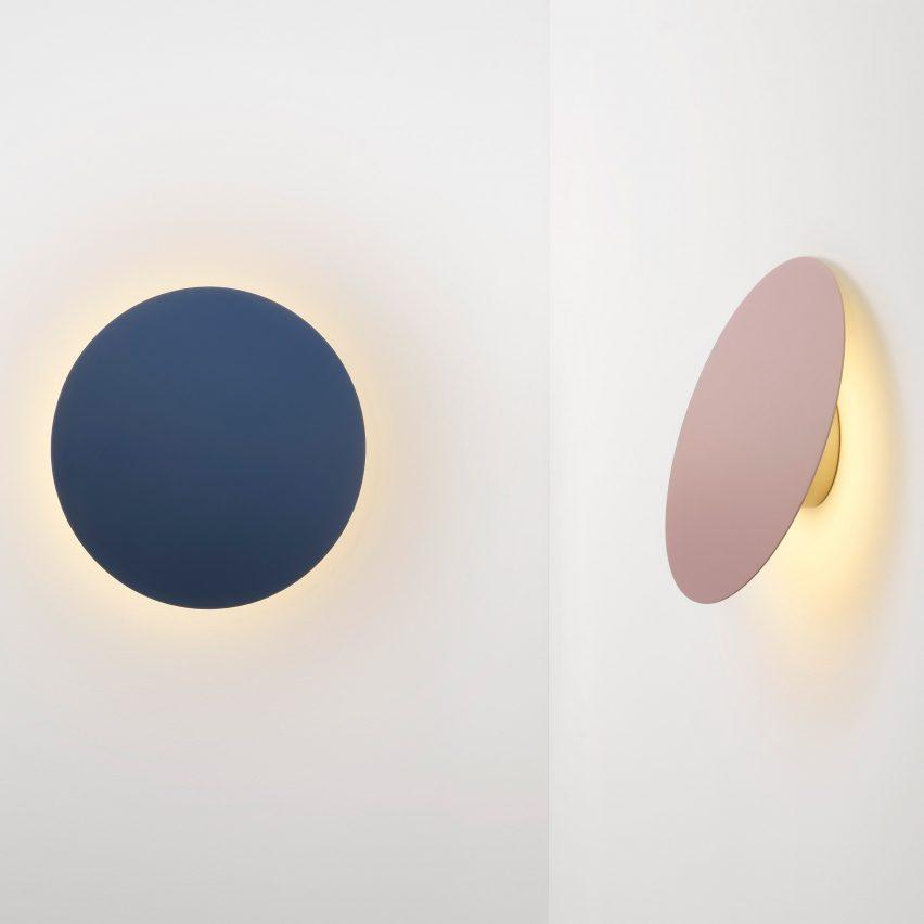 Ross Gardam's Polar wall lamp