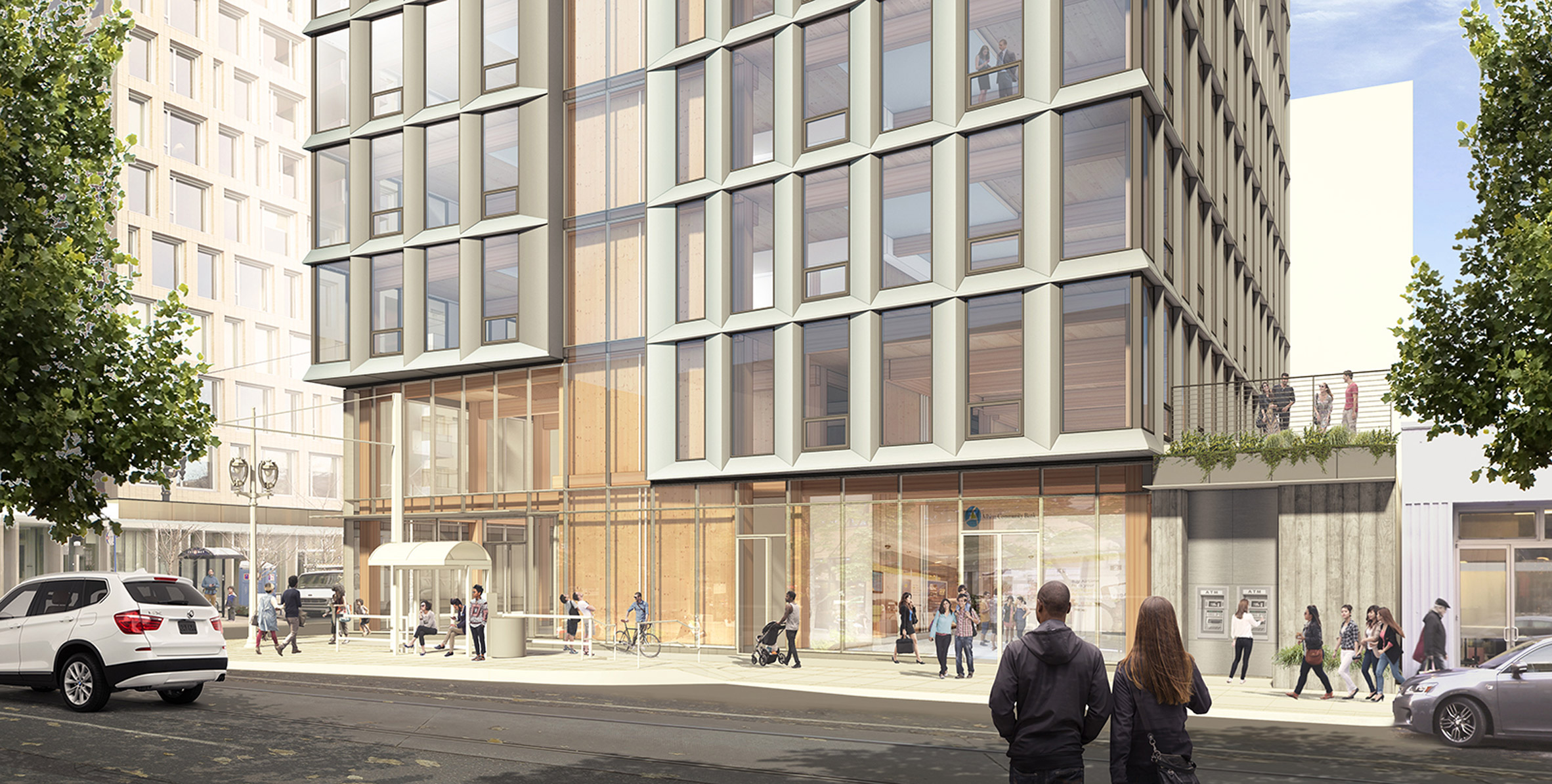 "Plans for ""pioneering"" Portland wooden high-rise put on hold"