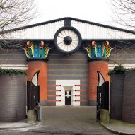 "John Outram's ""Temple of Storms"" pumping station heritage listed as one of UK's finest postmodern buildings"