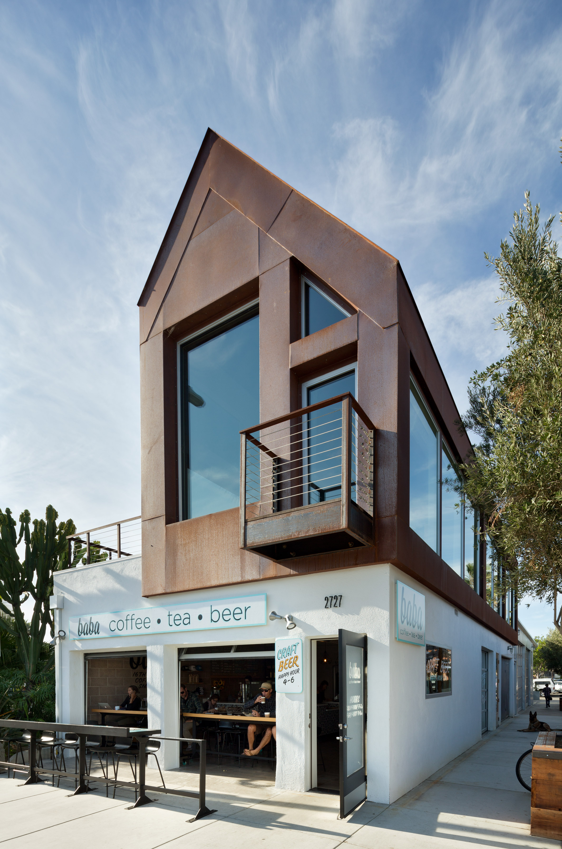 Brett Farrow converts auto body shop into restaurant complex in Southern California