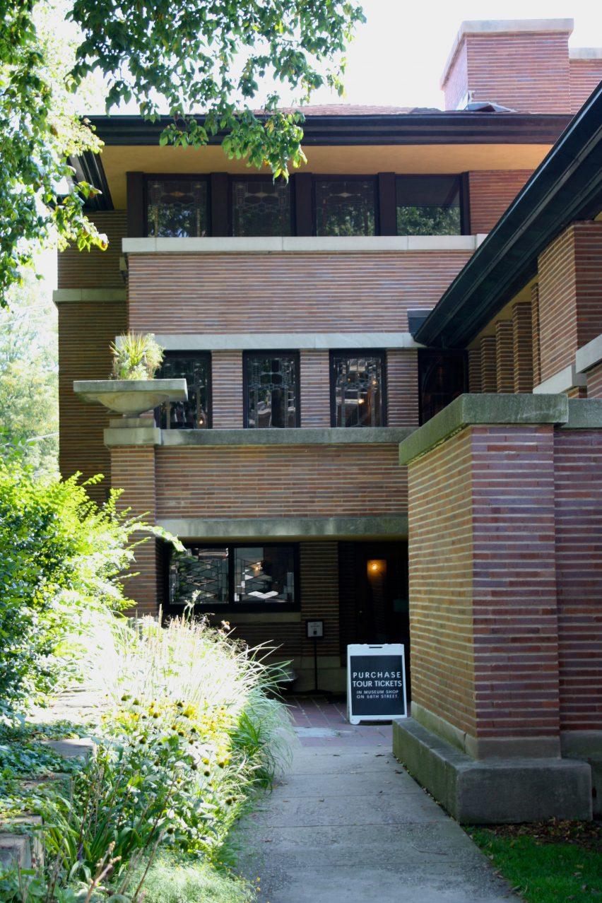Robie House By Frank Lloyd Wright