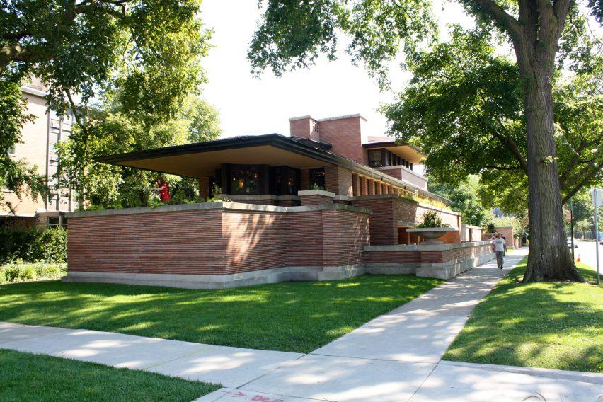 "Frank Lloyd Wright Prairie Style frank lloyd wright's robie house was his most ""consummate"