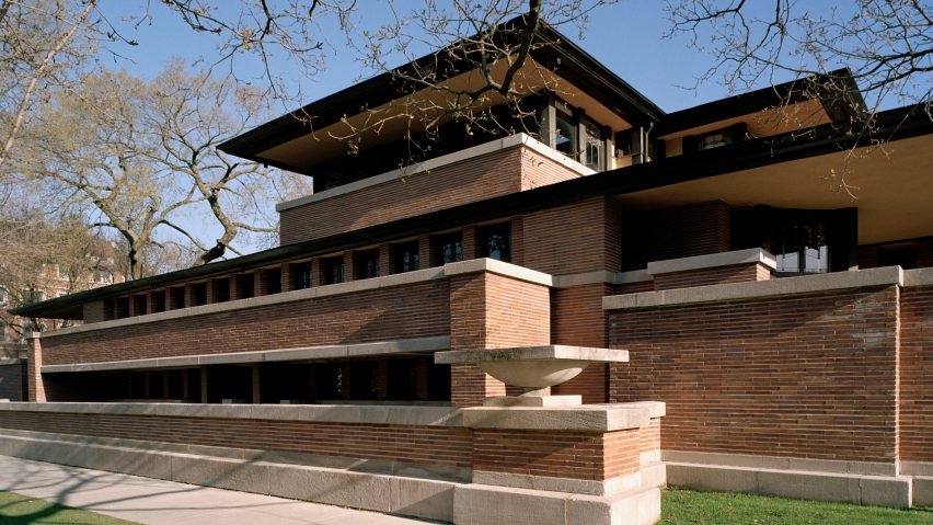 Robie House by Frank Lloyd Wright