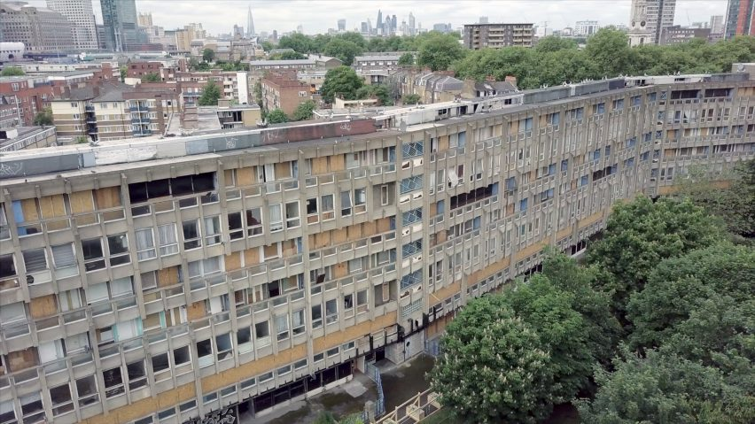 Drone Footage Shows Robin Hood Gardens Ahead Of Imminent Demolition - Incredible drone footage captures hong kong
