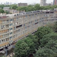 Drone footage captures brutalist Robin Hood Gardens ahead of imminent demolition