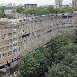 Drone Footage Captures Brutalist Robin Hood Gardens Ahead Of Demolition