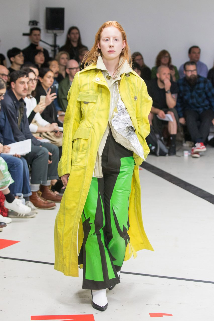 Royal college of art fashion show 79