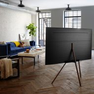 Dezeen and Samsung to launch €30,000 competition to rethink the TV stand
