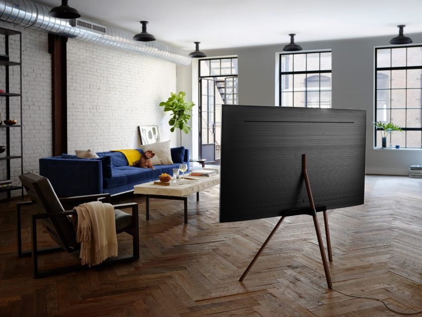 Dezeen X Samsung Qled Tv Stand Design Competition Brief And Rules