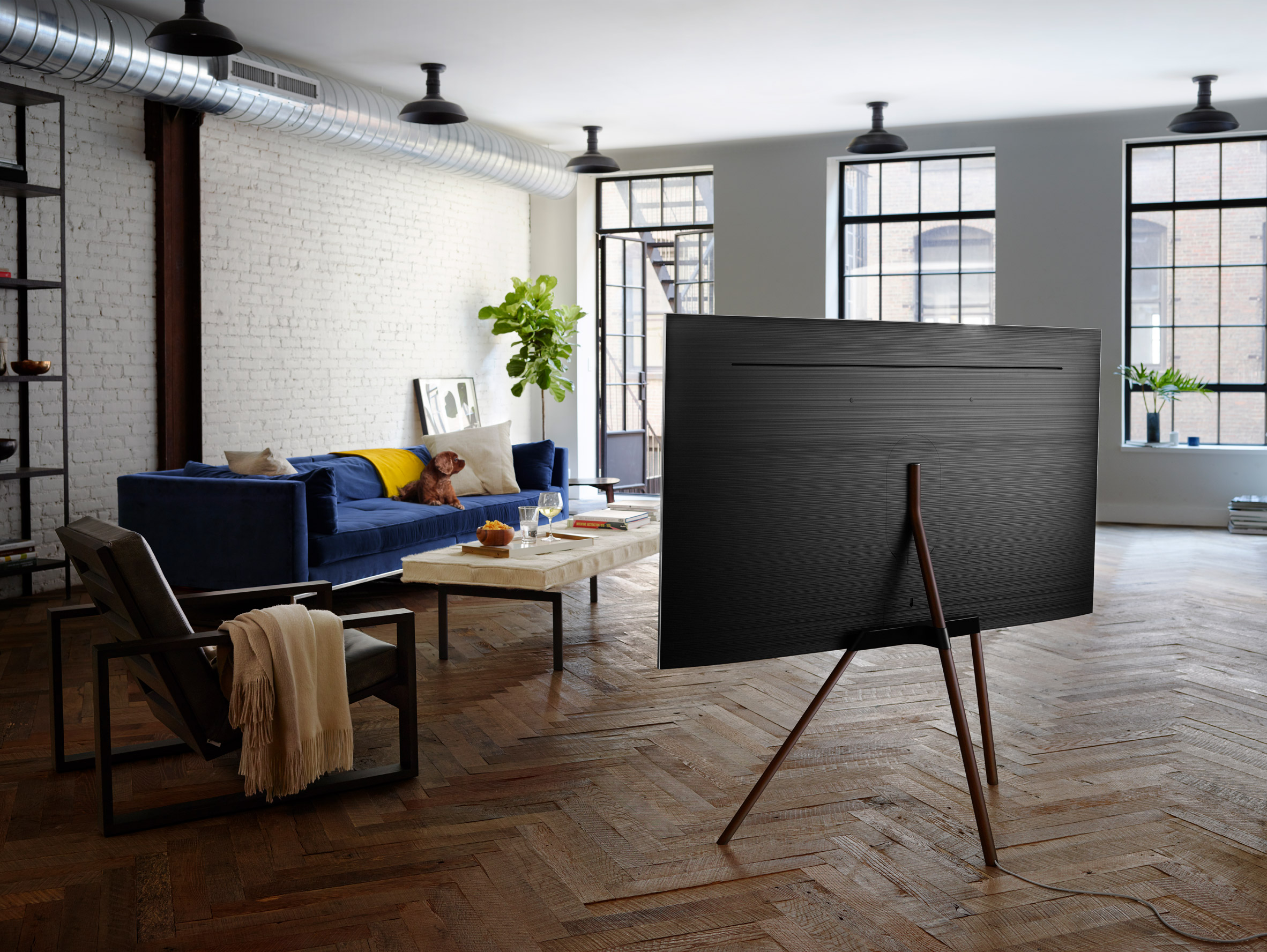Now live! Dezeen and Samsung launch €30,000 competition to rethink the TV stand